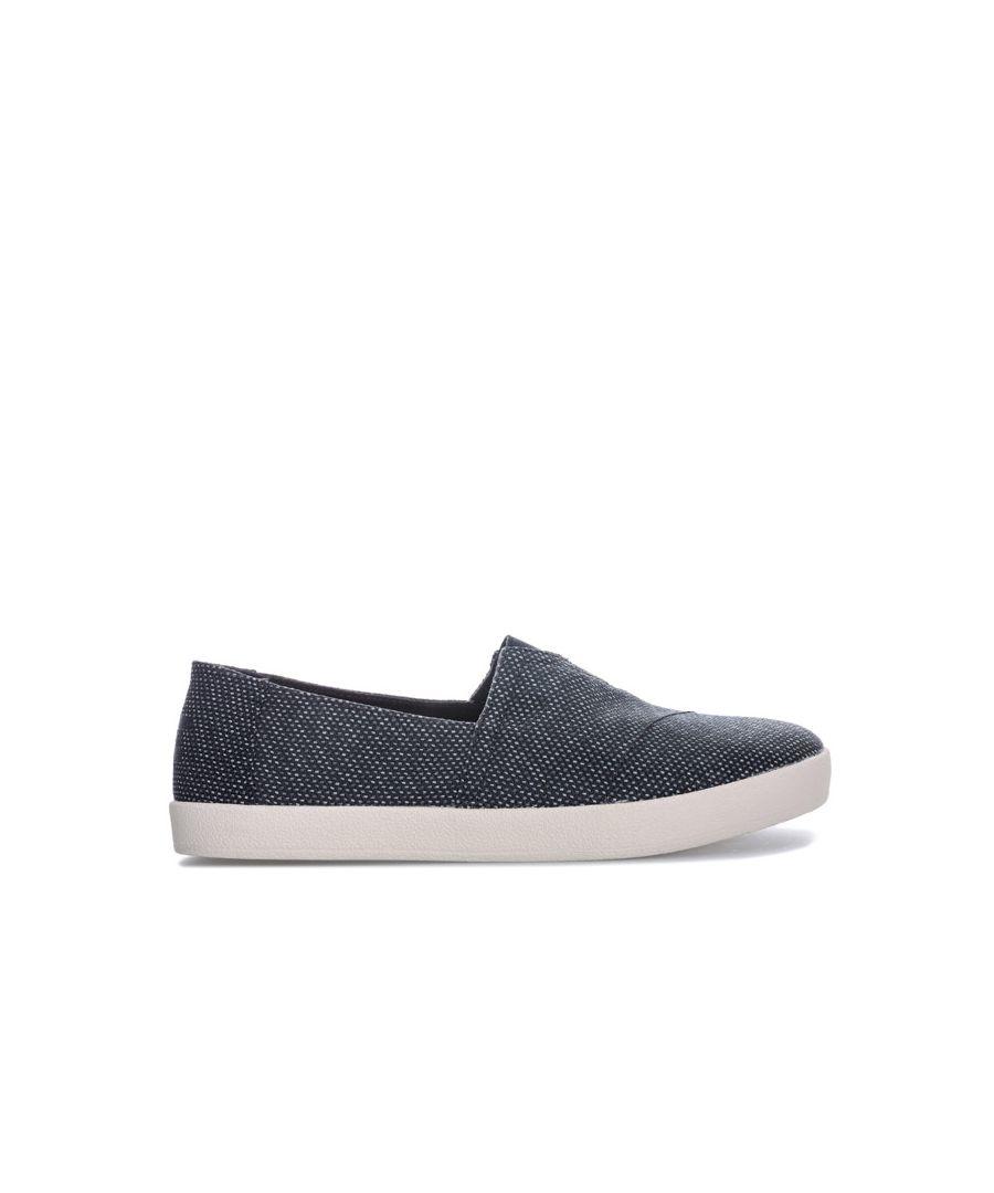 Image for Men's Toms Yarn Slip On Espadrille Shoes in Grey