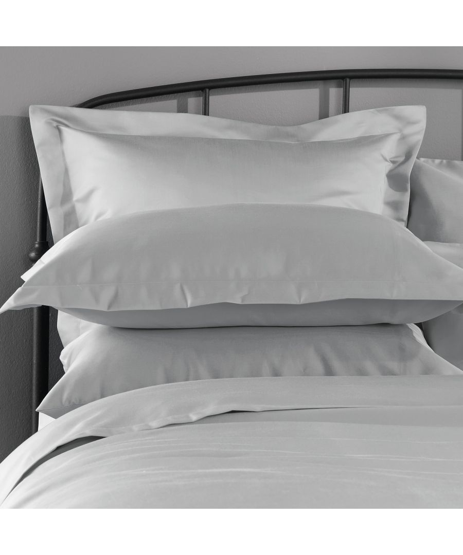 Image for 1000 Thread Count Duvet Cover - King - Ice Grey