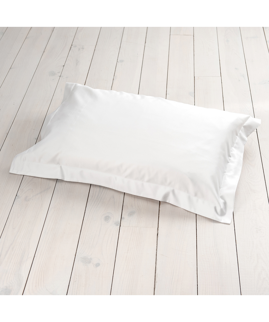 Image for 1000 Thread Count Oxford Pillowcase - Single - White