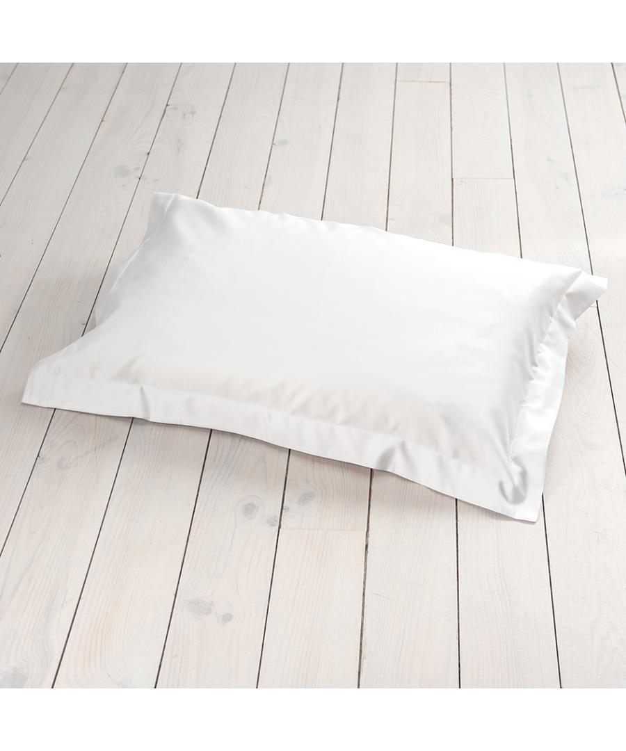 Image for 1000 Thread Count Oxford Pillowcase - Single - White