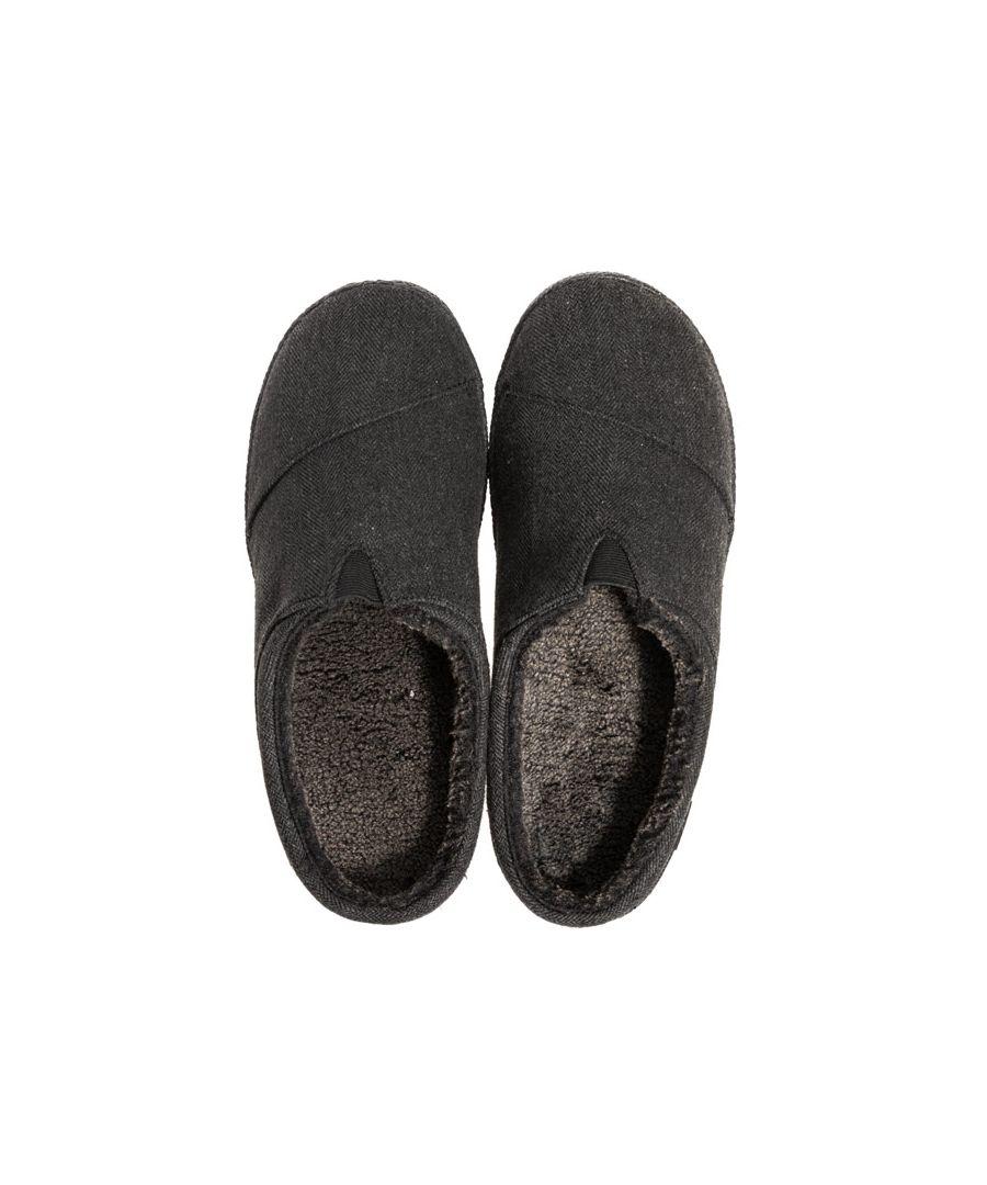 Image for Men's Toms Berkeley Woolen Slippers in Black