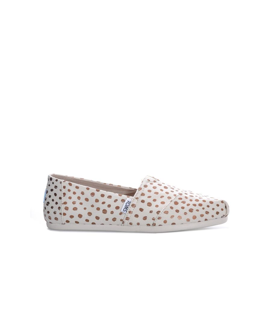 Image for Women's Toms Classics Dot Espadrille Pumps in Natural