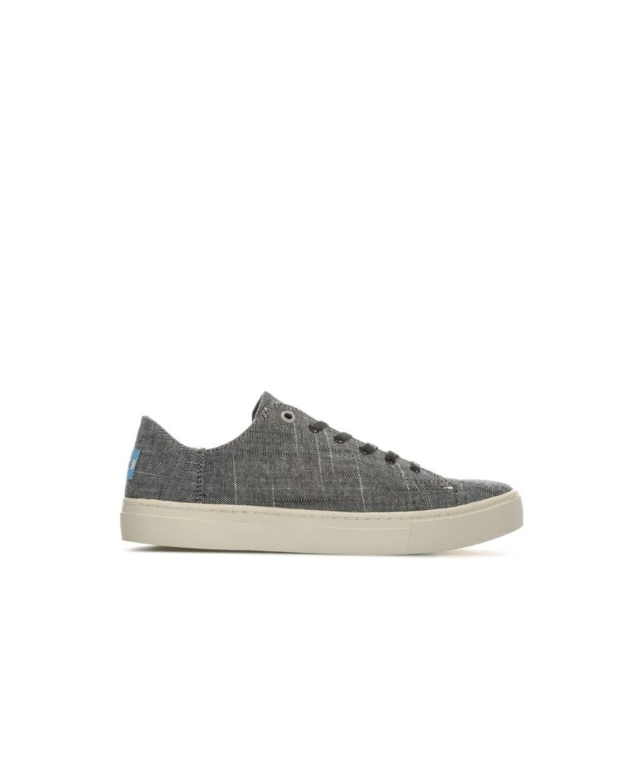 Image for Women's Toms Lenox Textured Chambray Sneakers in Black