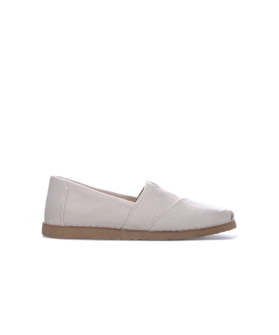 Image for Women's Toms Classics Heritage Canvas Crepe Pumps in Natural