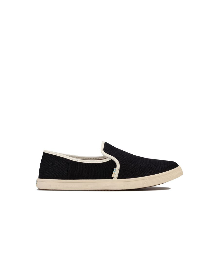 Image for Women's Toms Clemente Slip-On Pumps in Black-White