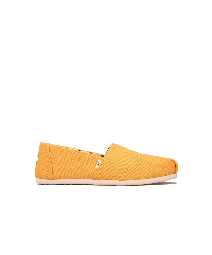 Image for Women's Toms Classics Heritage Canvas Espadrille Pumps in Gold