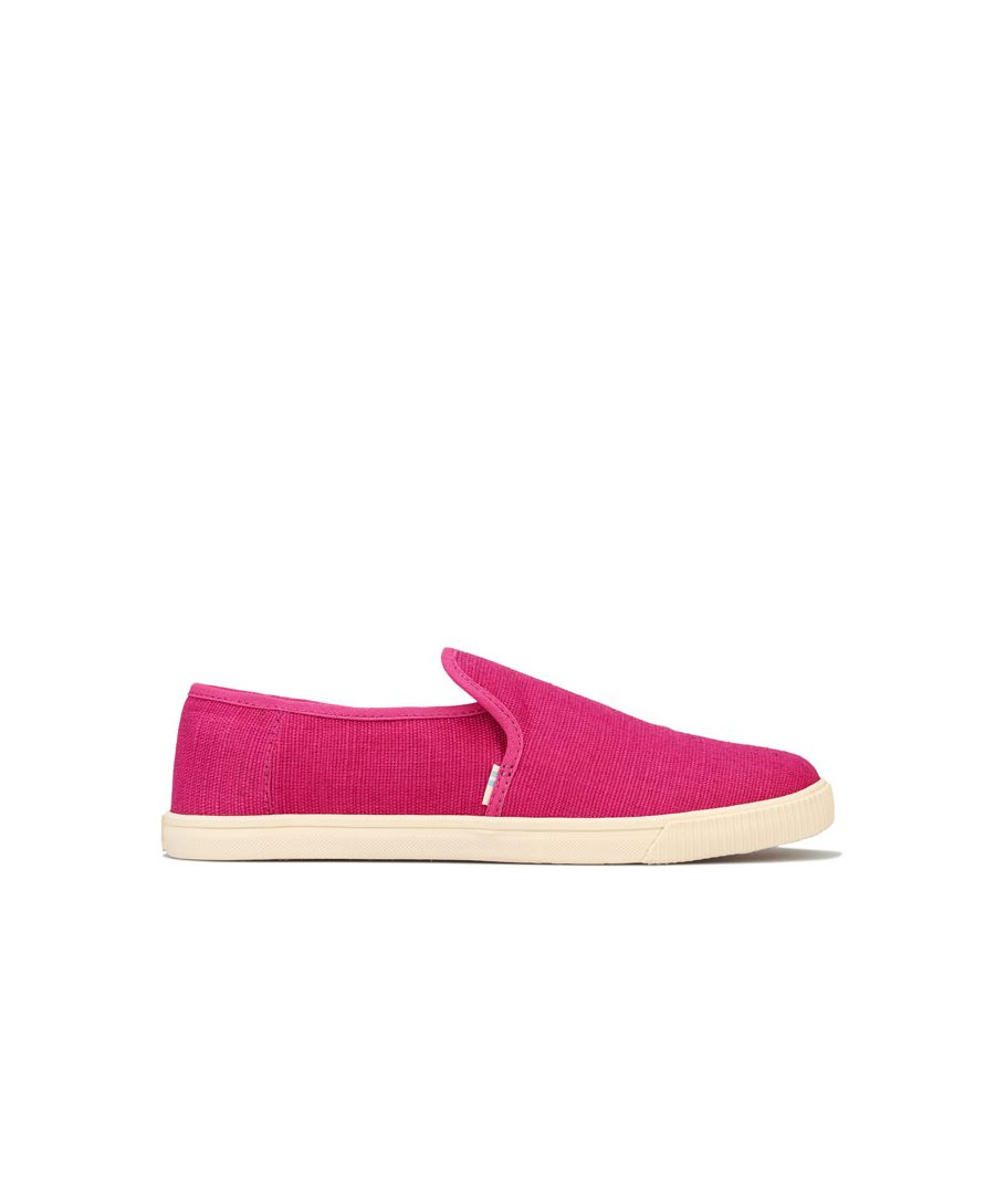 Image for Women's Toms Clemente Slip-On Pumps in Pink