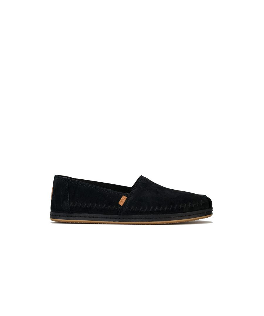 Image for Women's Toms Classics Suede Leather Wrap Pumps in Black
