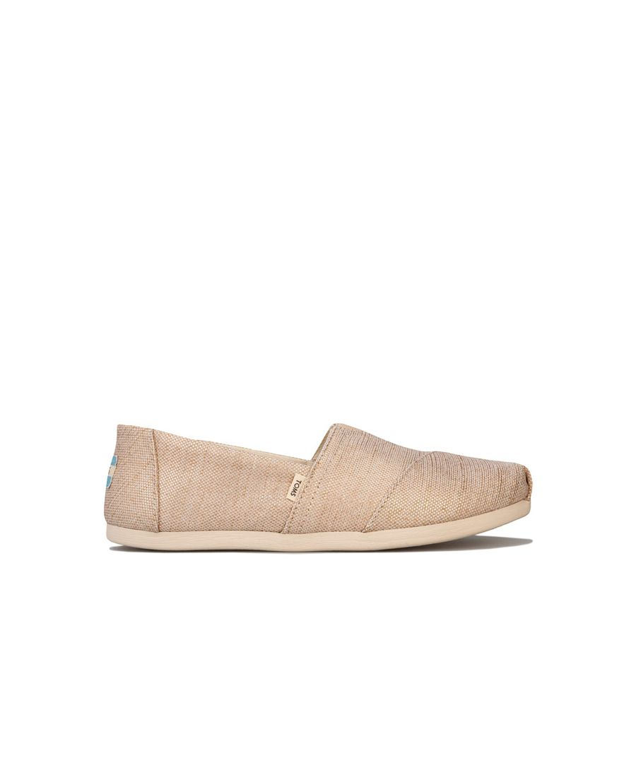 Image for Women's Toms Classics Jute Espadrille Pumps in Natural