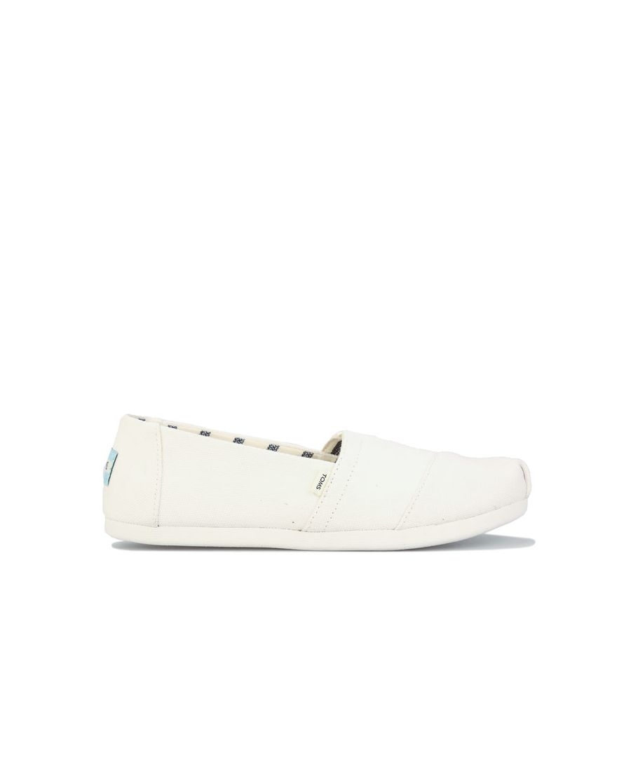 Image for Women's Toms Classics Canvas Pumps in White