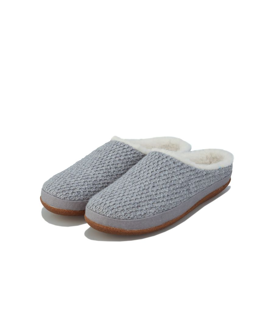 Image for Women's Toms Heather Ivy Slippers in Grey