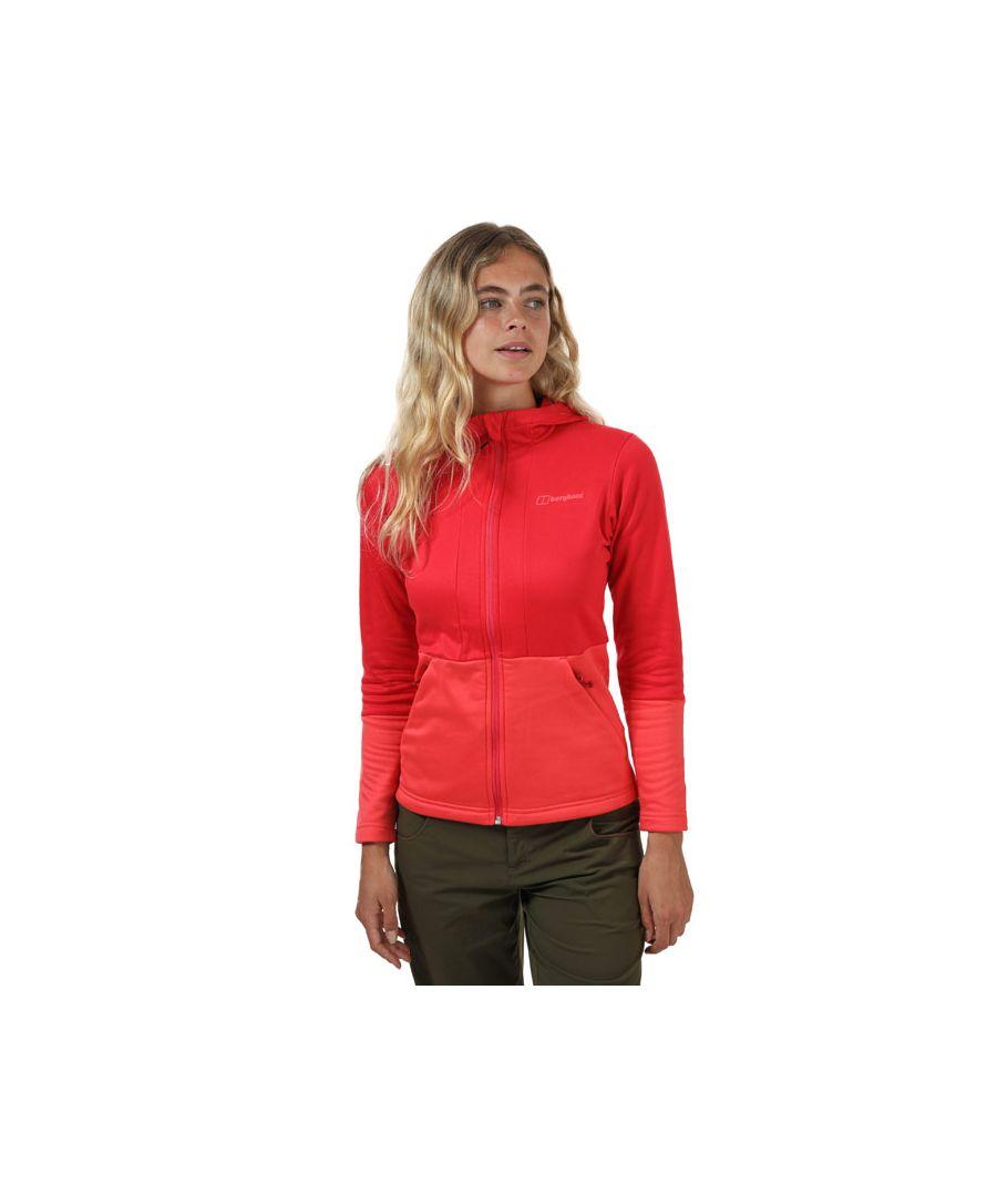 Image for Women's Berghaus Motionik Fleece Jacket in Red
