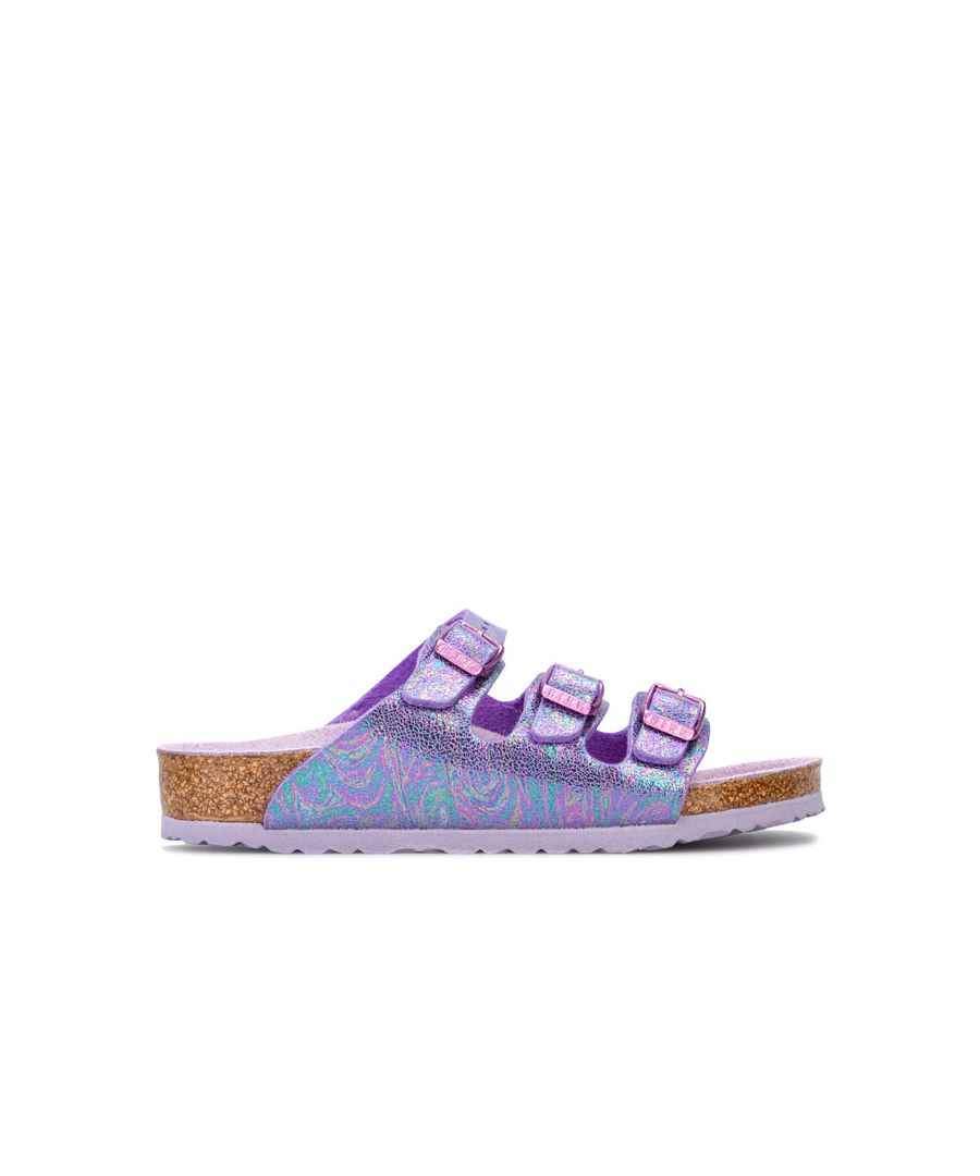 Image for Girl's Birkenstock Children Florida Sandals in Violet