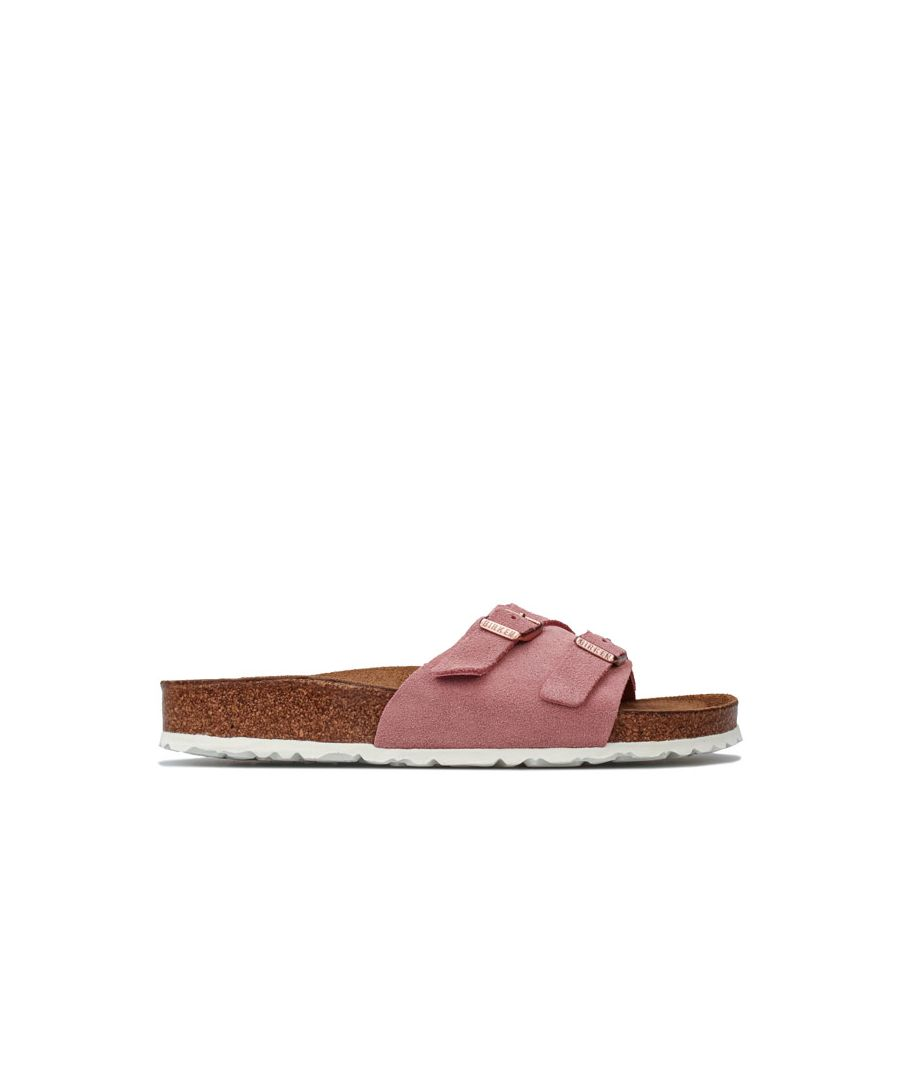 Image for Women's Birkenstock Vaduz Soft Footbed Sandals Narrow Width in Rose