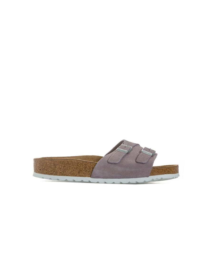 Image for Women's Birkenstock Vaduz Soft Footbed Sandals Narrow Width in Lavender