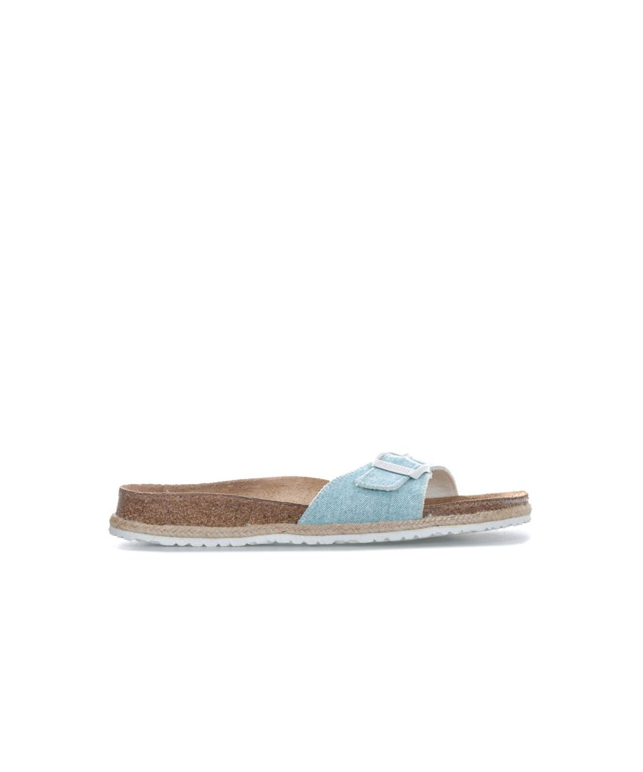 Image for Women's Papillio Madrid Sandals Narrow Width in Light Blue