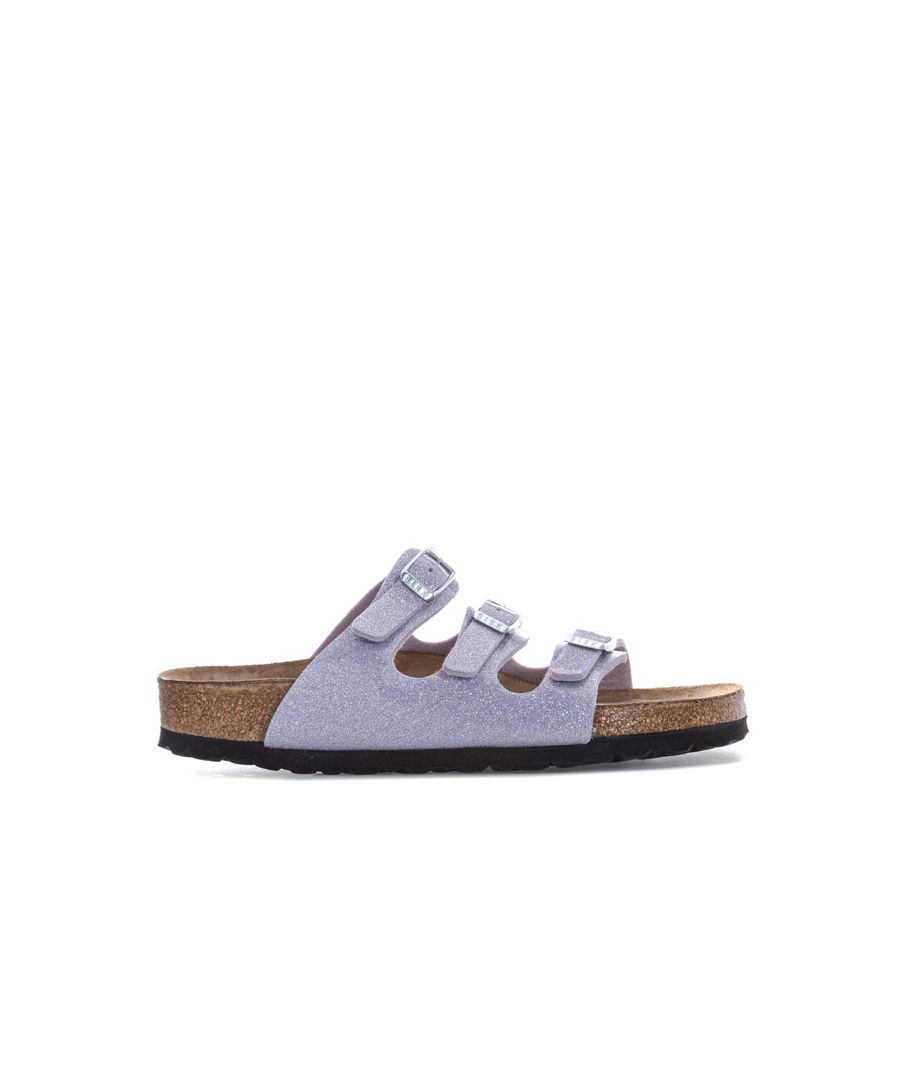 Image for Women's Birkenstock Florida Soft Footbed Sandals Narrow in Lavender