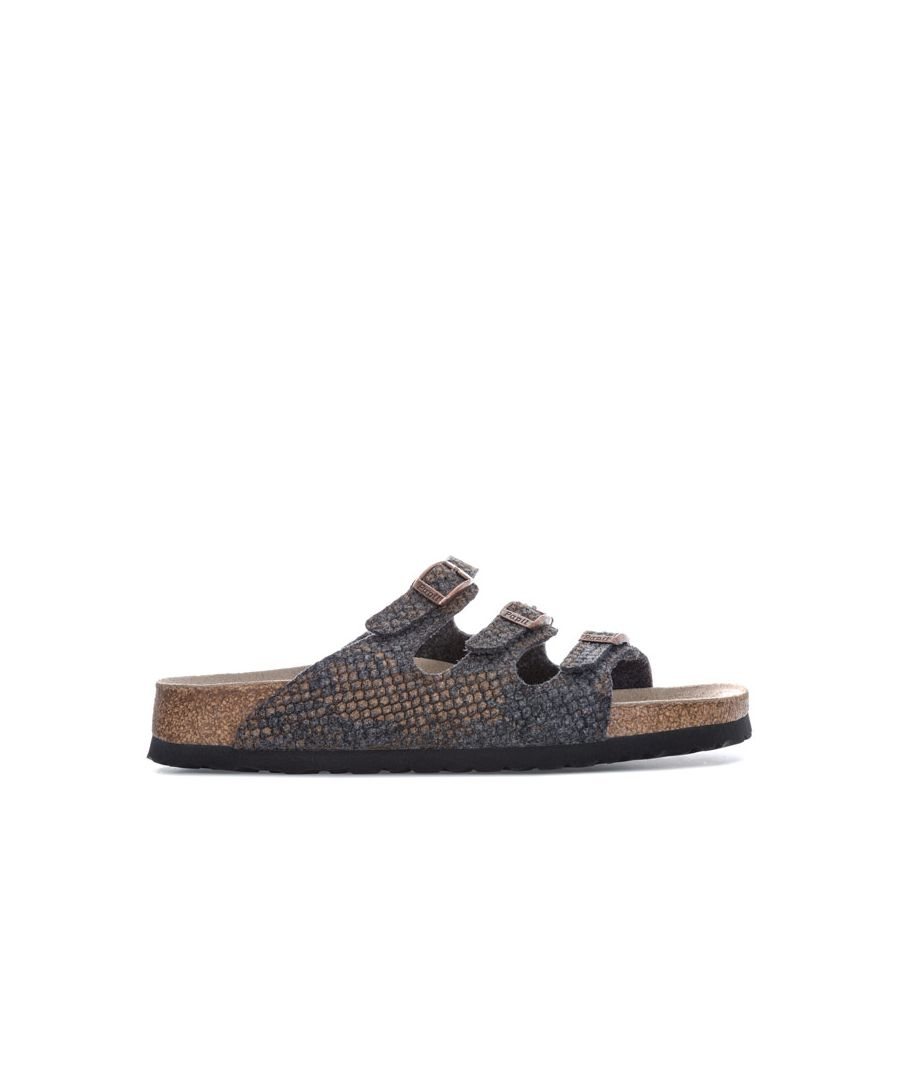 Image for Women's Papillio Florida Sandals Narrow Width in Grey