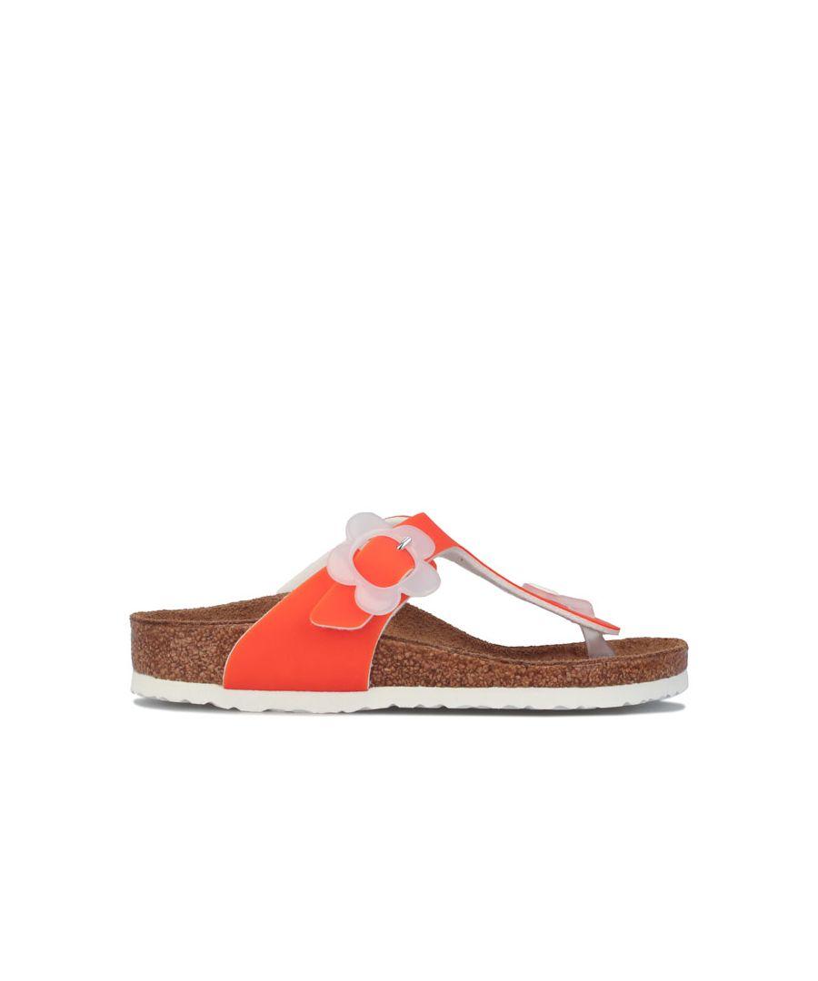 Image for Girl's Birkenstock Children Gizah Sandals in Orange