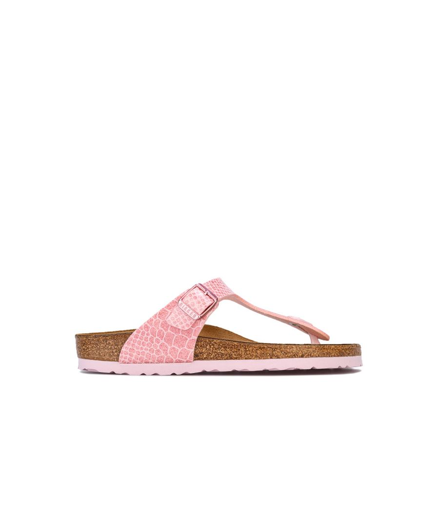 Image for Girl's Birkenstock Junior Gizeh BF Sandals in Pink