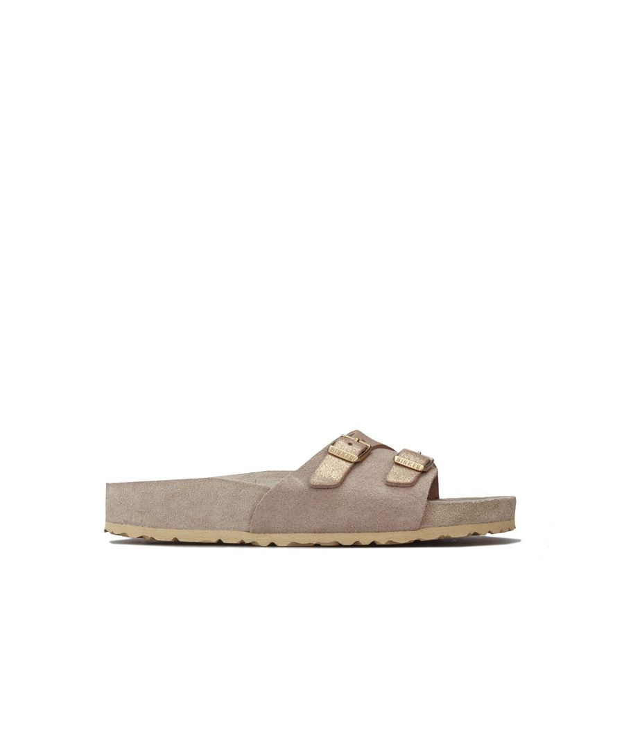 Image for Women's Birkenstock Vaduz Exquisite Sandals in Beige