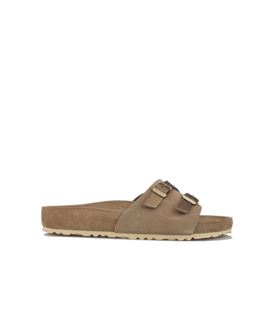 Image for Women's Birkenstock Vaduz Exquisite Sandals Regular Width Khaki UK 3.5in Khaki
