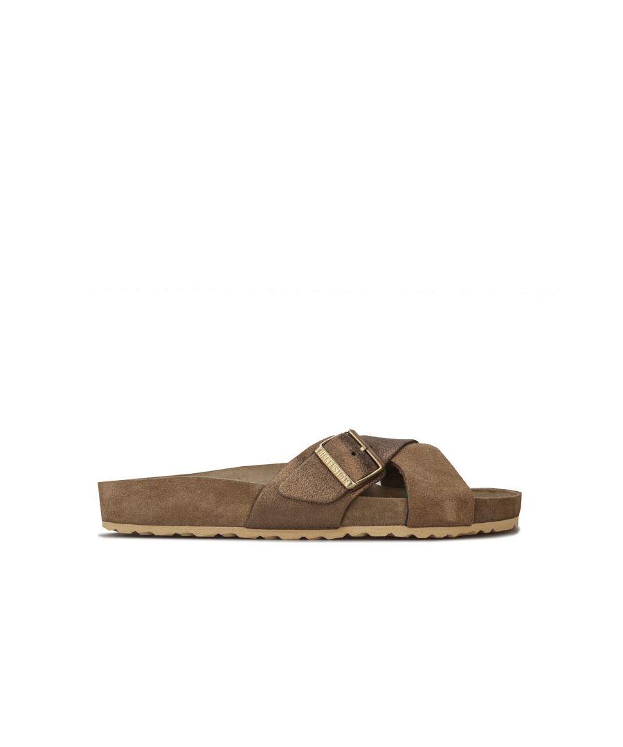 Image for Women's Birkenstock Siena Exquisite Sandals in Khaki