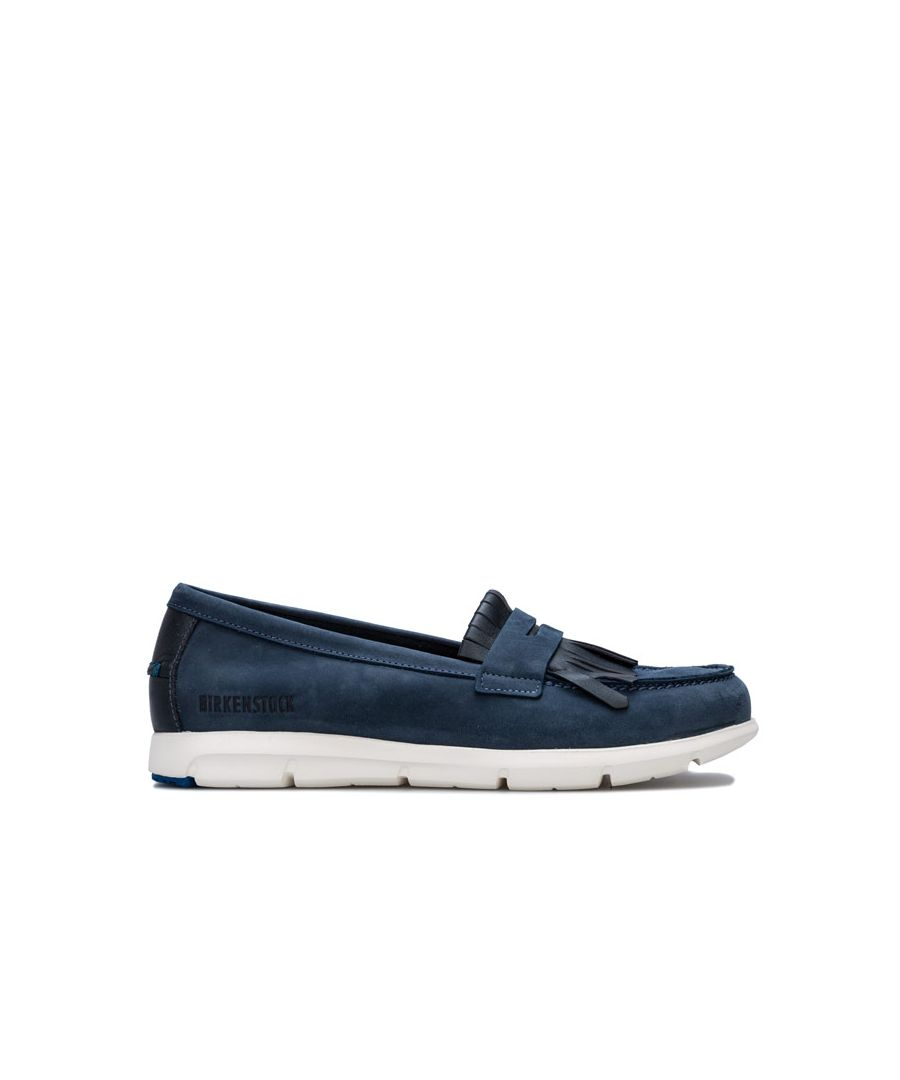 Image for Women's Birkenstock Saitama Shoes Narrow Width in Navy