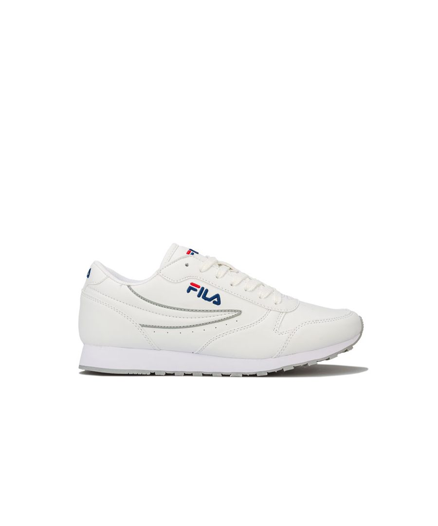 Image for Women's Fila Orbit Low Trainers in White
