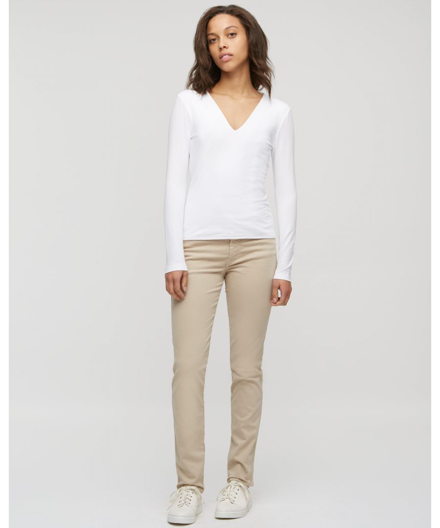 Image for Twill Straight Leg Jeans