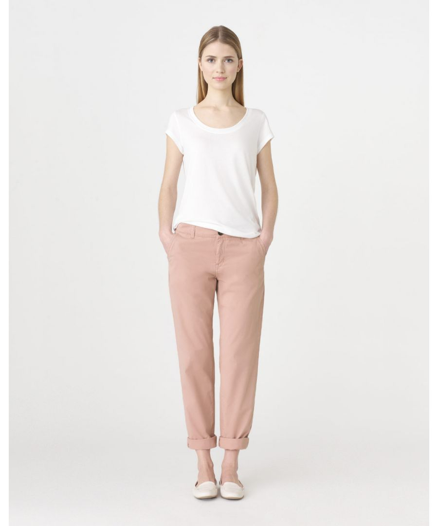 Image for Washed Chino Slim Leg Trouser
