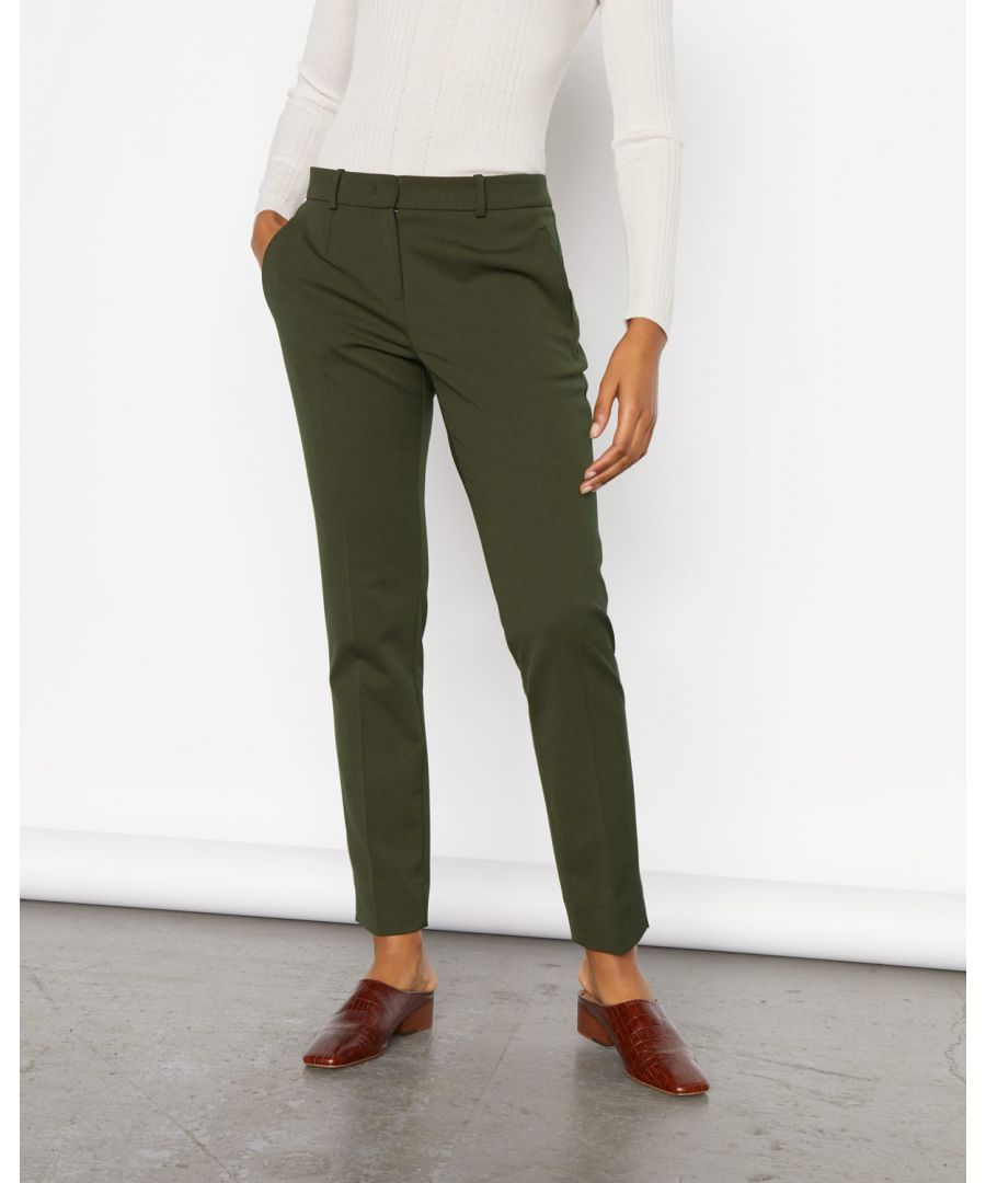 Image for Soft Drill Wide Trouser