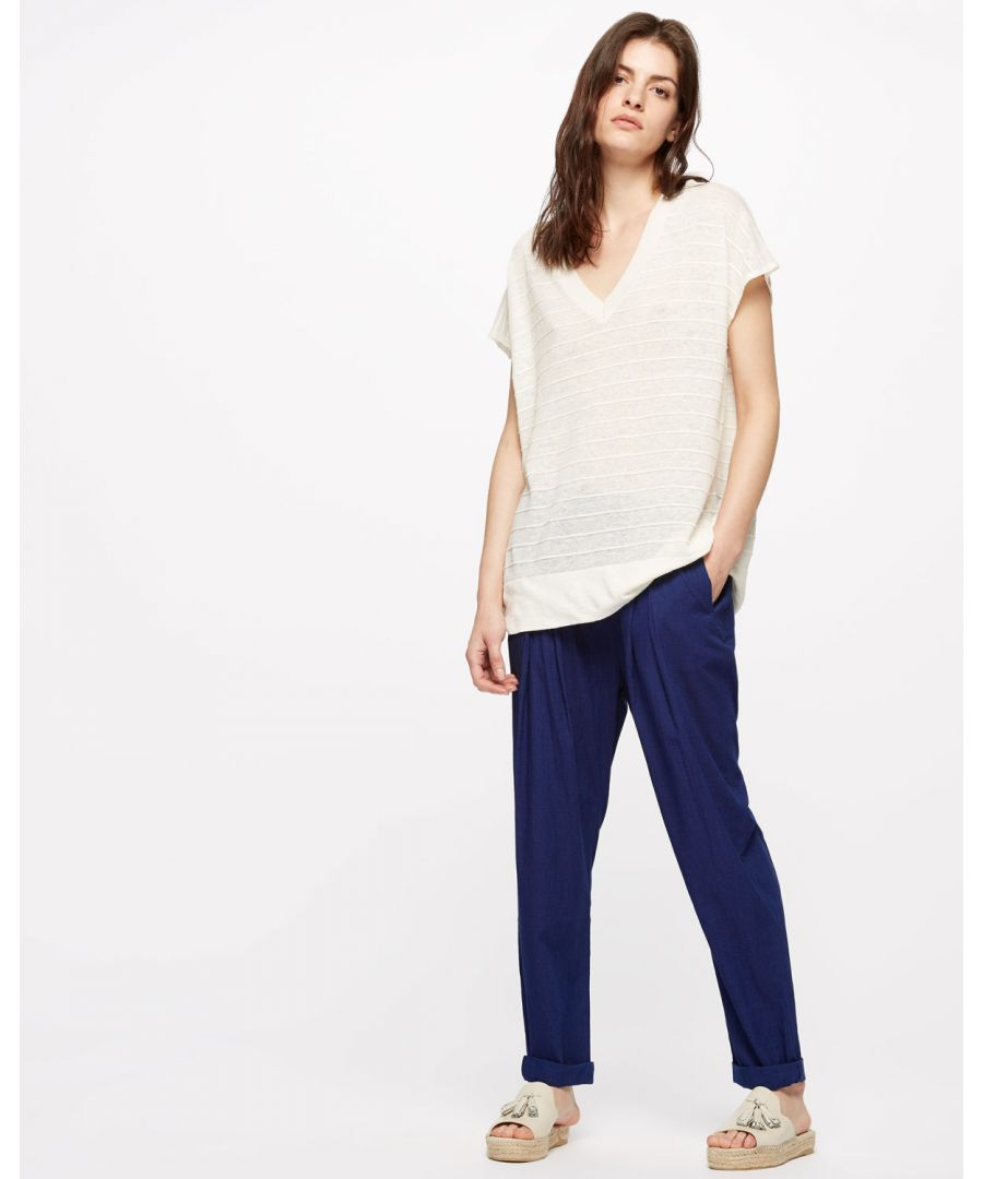 Image for Cotton Drawstring Trouser