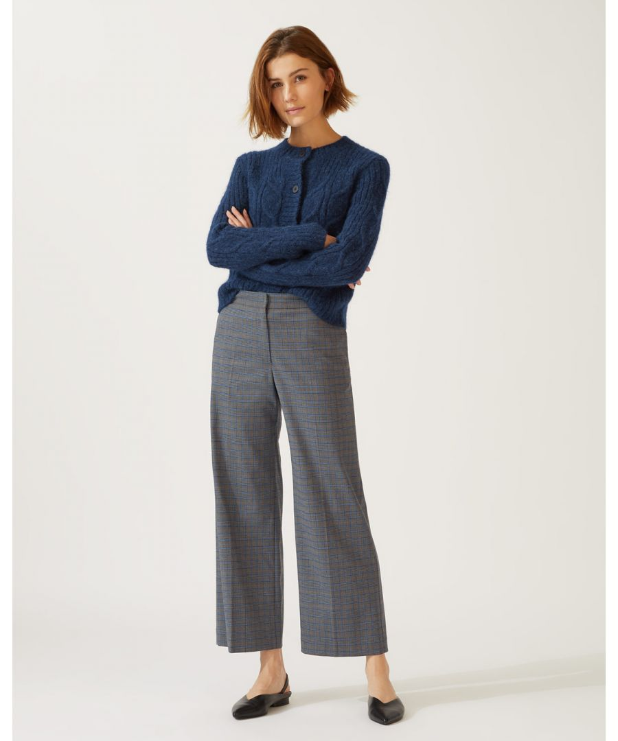 Image for Check Hoxton Trouser
