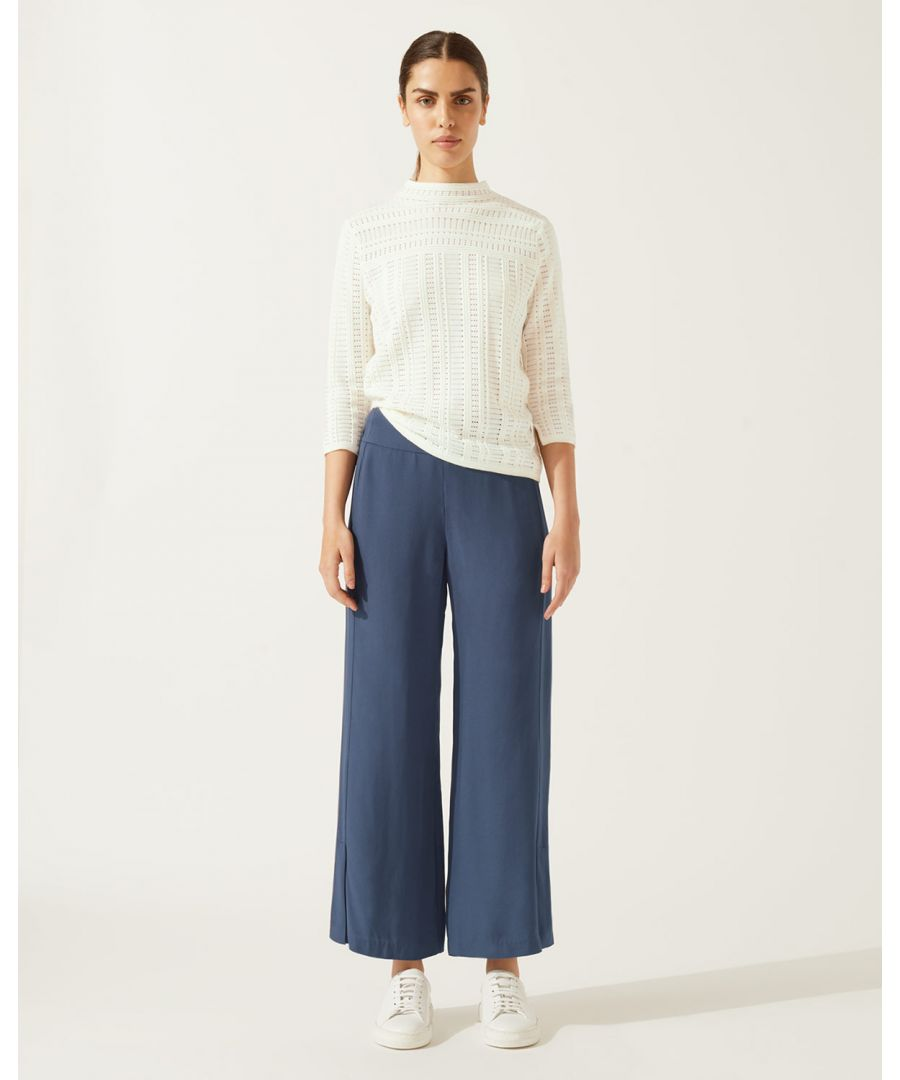 Image for Clean Crepe Culotte