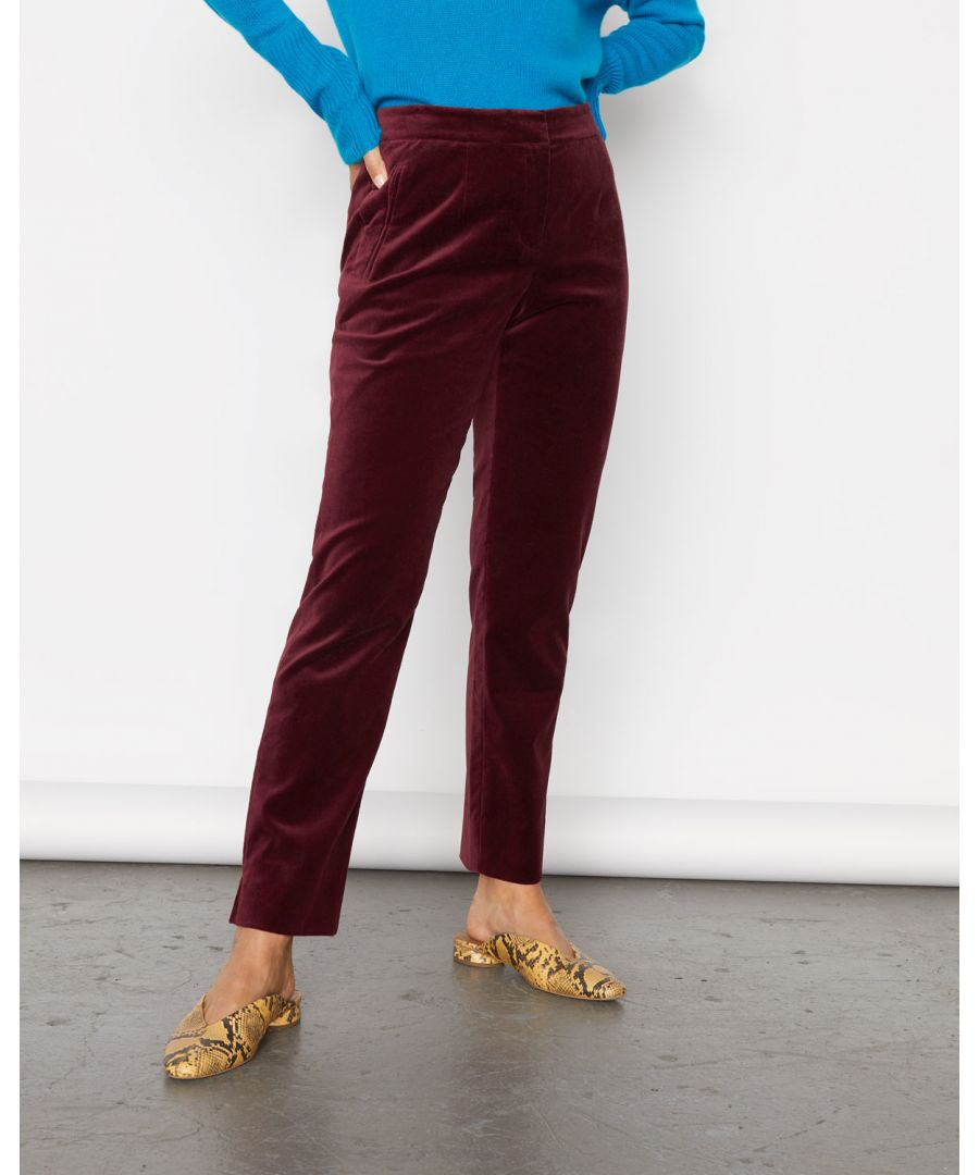 Image for Paris Velvet Trouser