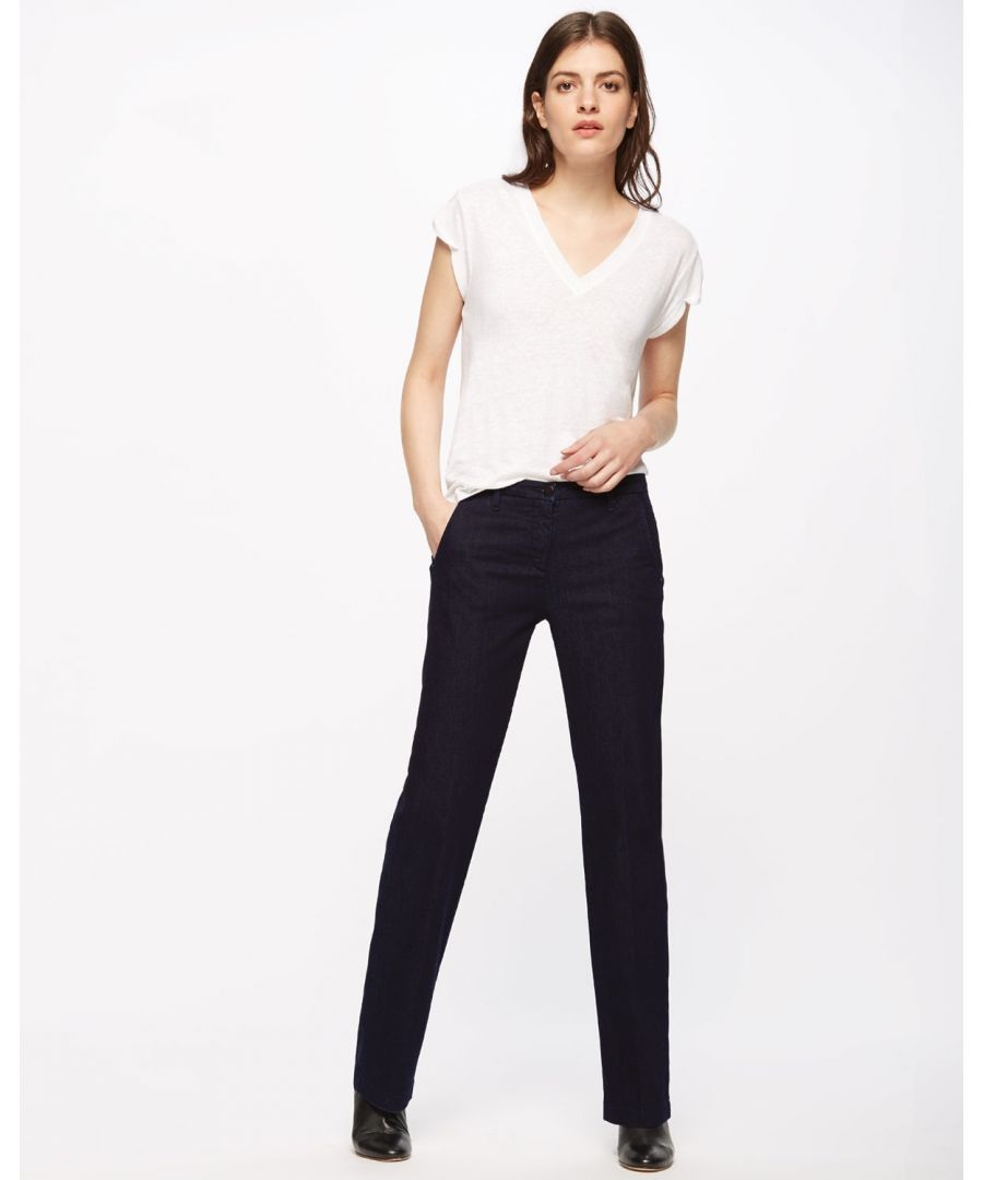 Image for Kingston Straight Leg Jean