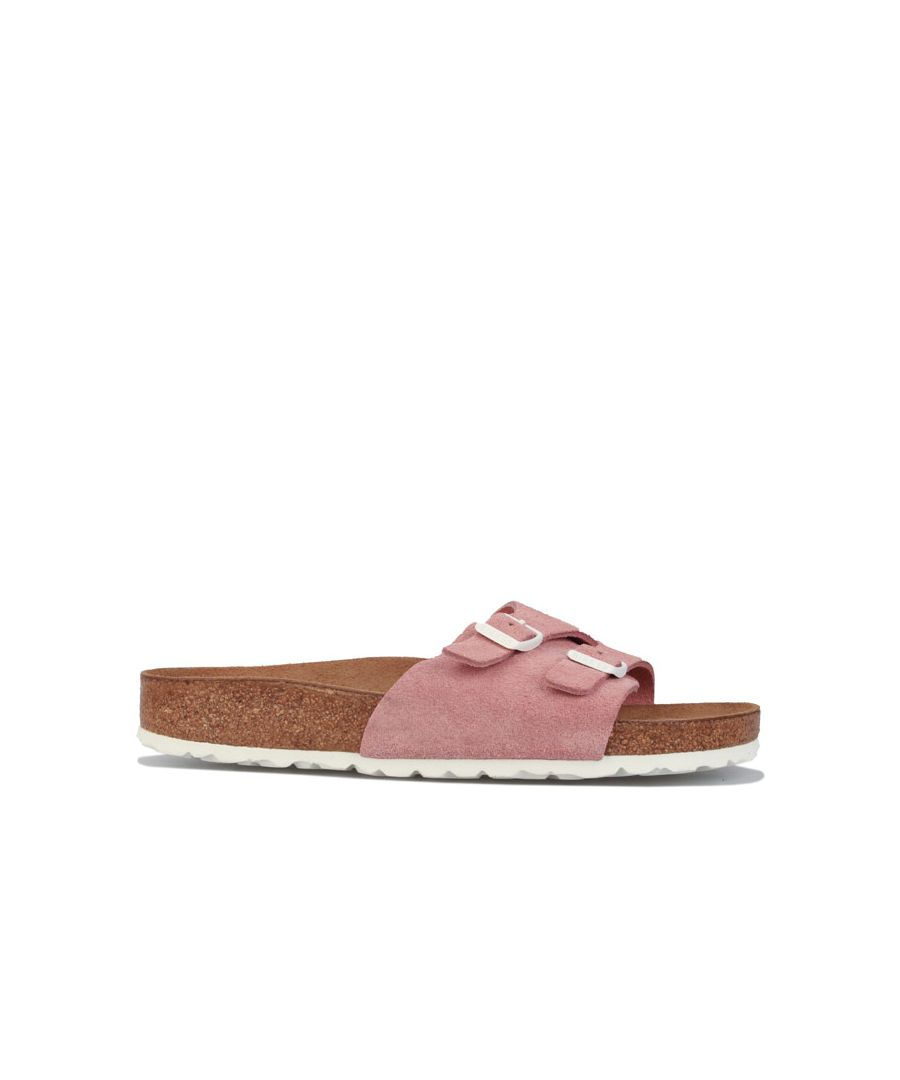 Image for Women's Birkenstock Vaduz Soft Footbed Sandals Narrow Width in Rose