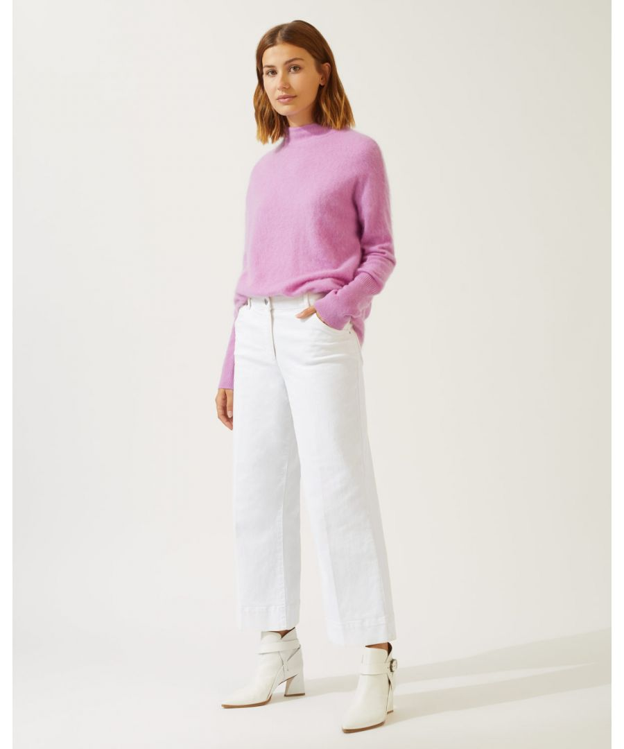 Image for Hoxton Crop Flare Jean