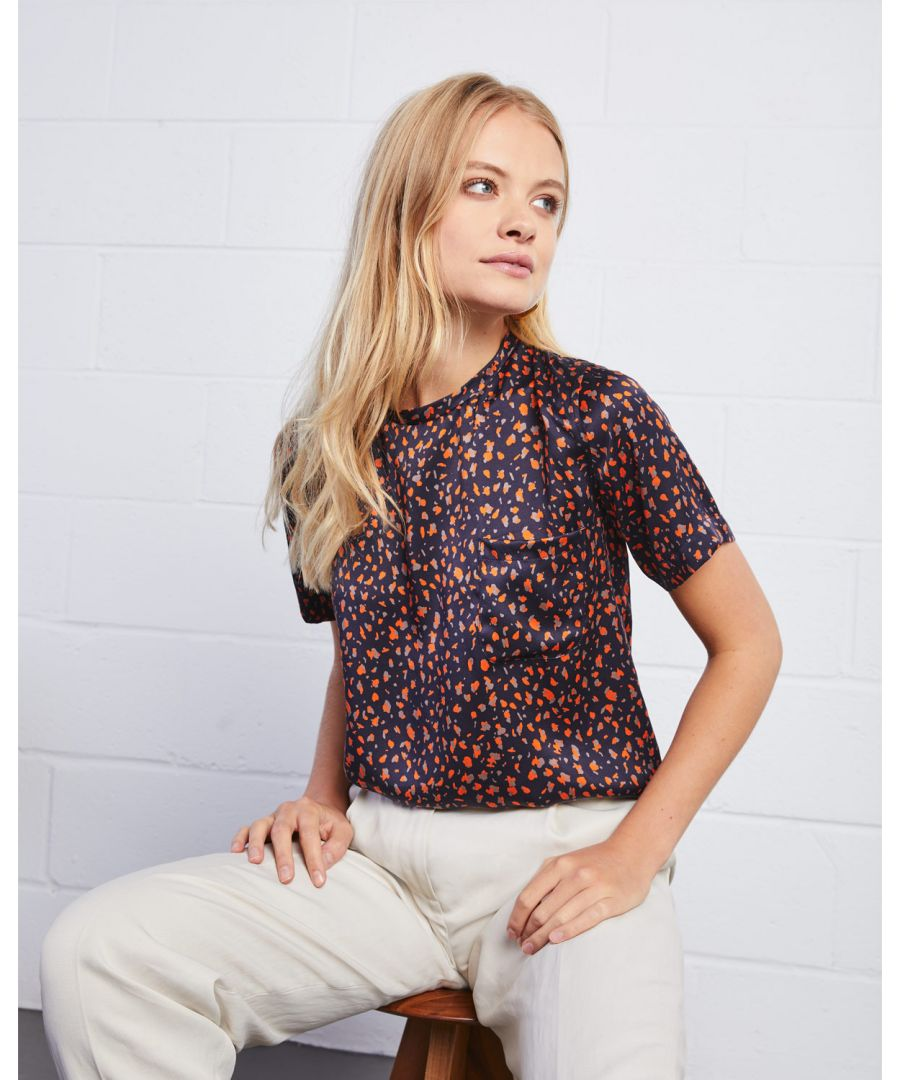Image for Speckle Silk Tee