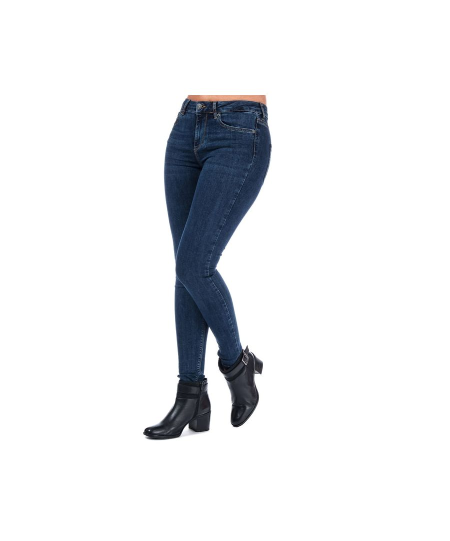 Image for Women's Vero Moda Lux Super Slim Jeans in Dark Blue