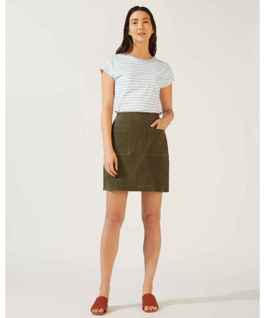 Image for Relaxed Cotton Slub Stripe Tee