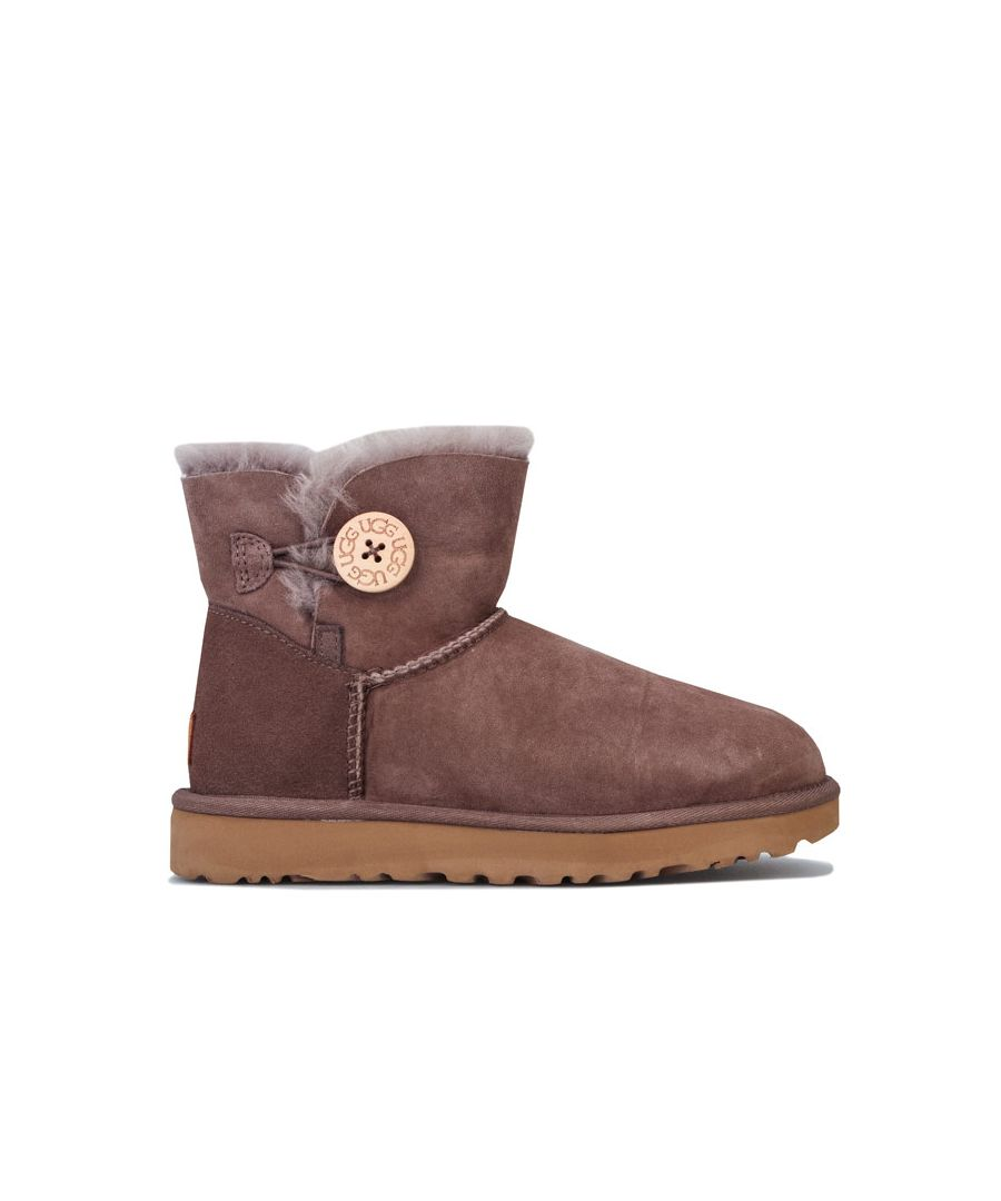 Image for Women's Ugg Australia Mini Bailey Button II Boots in Brown