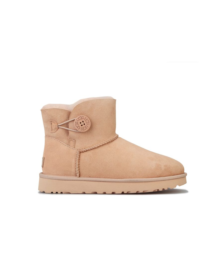 Image for Women's Ugg Australia Mini Bailey Button II Boots in Dusky Pink