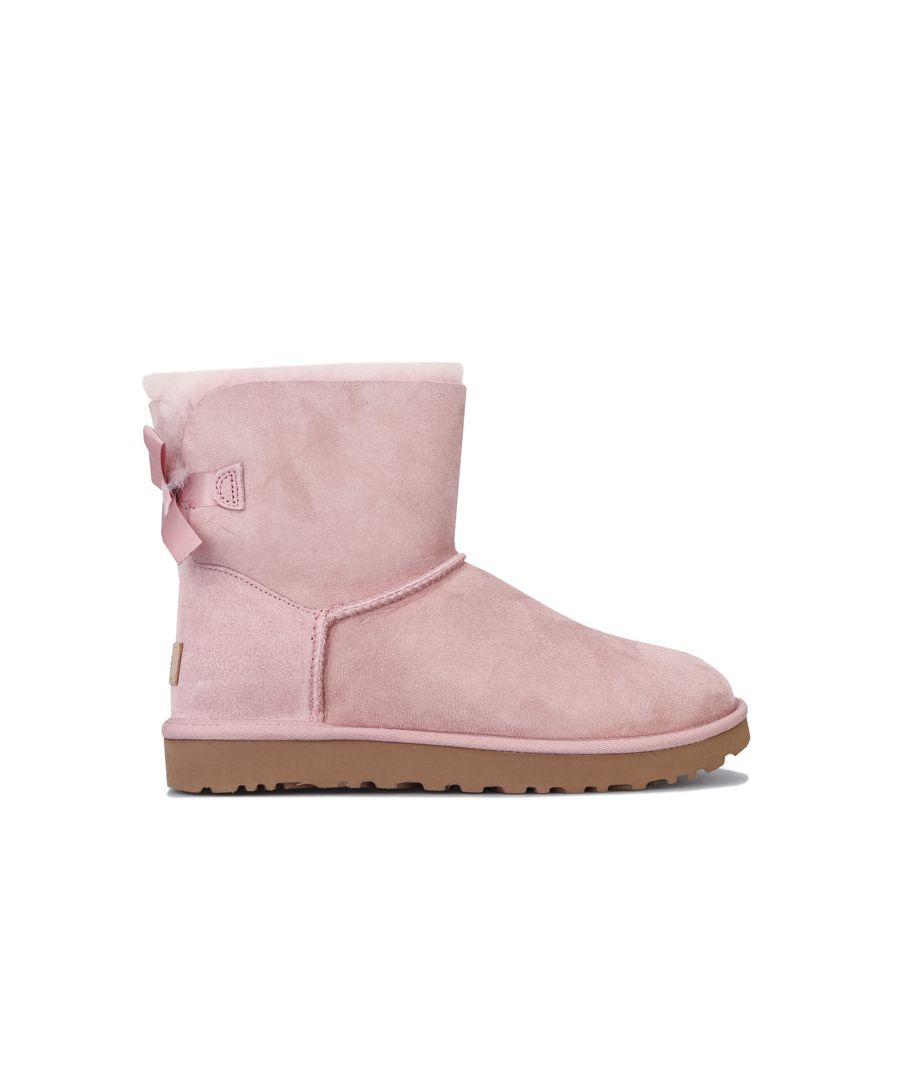 Image for Women's Ugg Australia Mini Bailey Bow II Boots in Pink