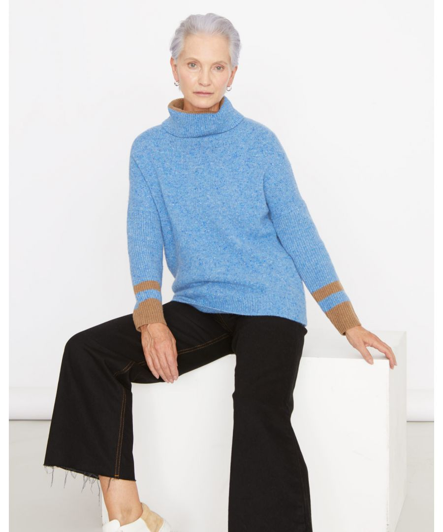 Image for Donegal Slouchy Polo Jumper