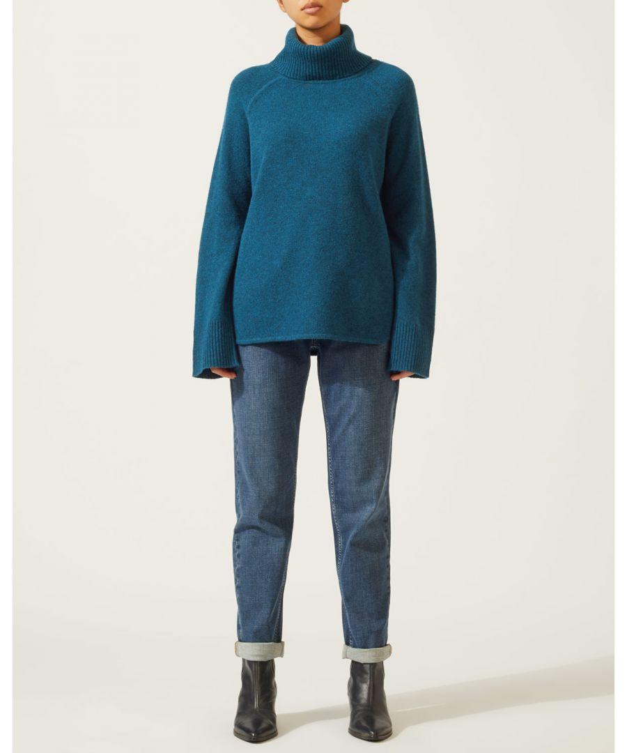Image for Slouchy Wool Raglan Jumper