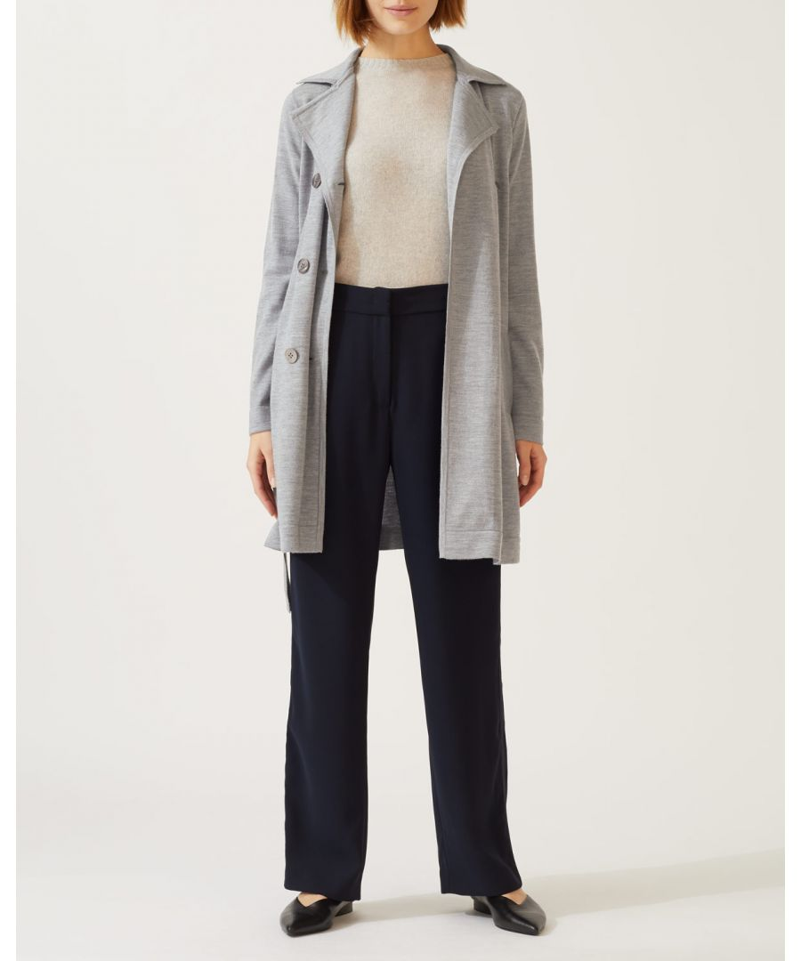 Image for Knitted Trench Coat