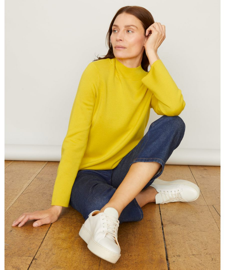 Image for Double Faced Turtle Neck Jumper