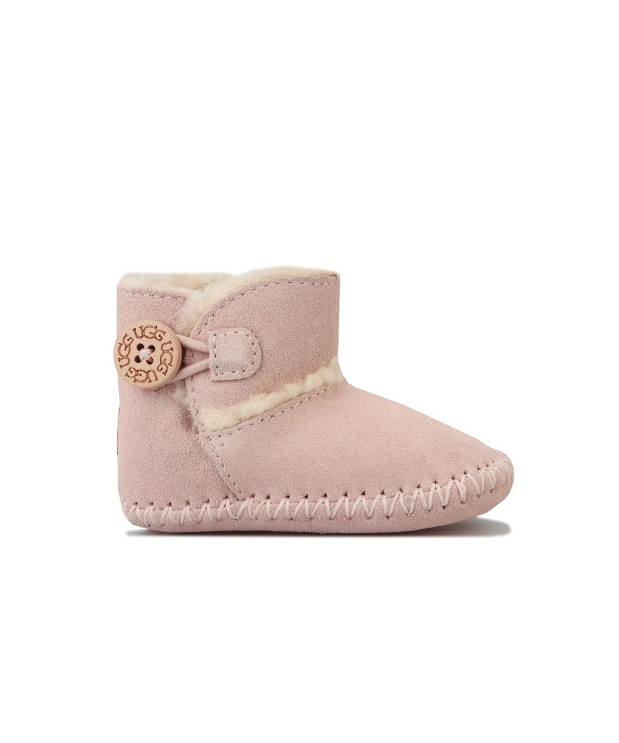 Image for Girl's Ugg Australia Infant Lemmy II Boots in Pink